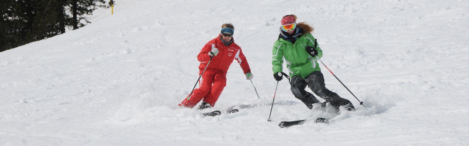 Carving lessen skischule mayrhofen