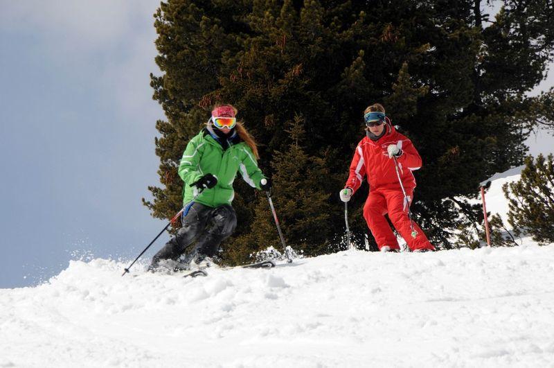 Carving ski lessons skischule mayrhofen